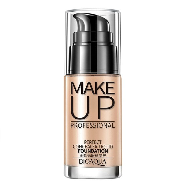 BIOAQUA makeup flawless foundation oil control oil moisturizing waterproof lasting concealer BB cream facial foundation20