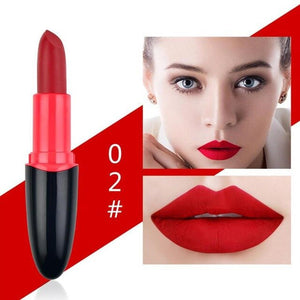 Matte Lipsticks Waterproof Long Lasting Matte Lipstick Lip Sticks Cosmetic Easy To Wear Matte Batom Makeup Lipstick Make Up
