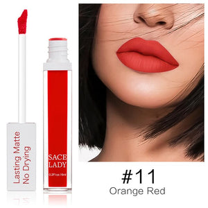 New Matte Lip Glaze Makeups 23 Colors Long Lasting Liquid Lipstick Lip Tint Waterproof Cosmetics SCI88
