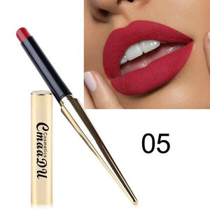 Cmaadu 12 Colors Matte Lipsticks Waterproof Lips Pigment Nude Sexy Red Lip Tint Long Lasting Matte Lipstick Makeup Cosmetic