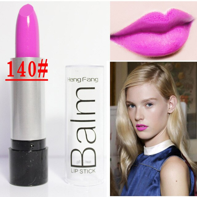 New Brand Lipstick Waterproof Makeup Lips Pencil Red Black Lip Stick Matte Nude Pigment Lip Lipstick Balm Cosmetics