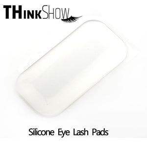 3 Pcs/Lot Silicone Reuseable Eye Lashes Pads Pallet Stand Makeup Tools for Eyelash Extension, Silicone Individual Eyelashes Pads