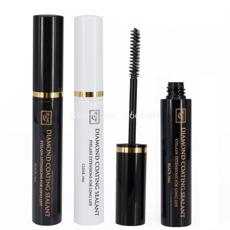 I Beauty Diamond Clear or Black Coating Sealant Coating Mascara Makeup Tools Free Shipping
