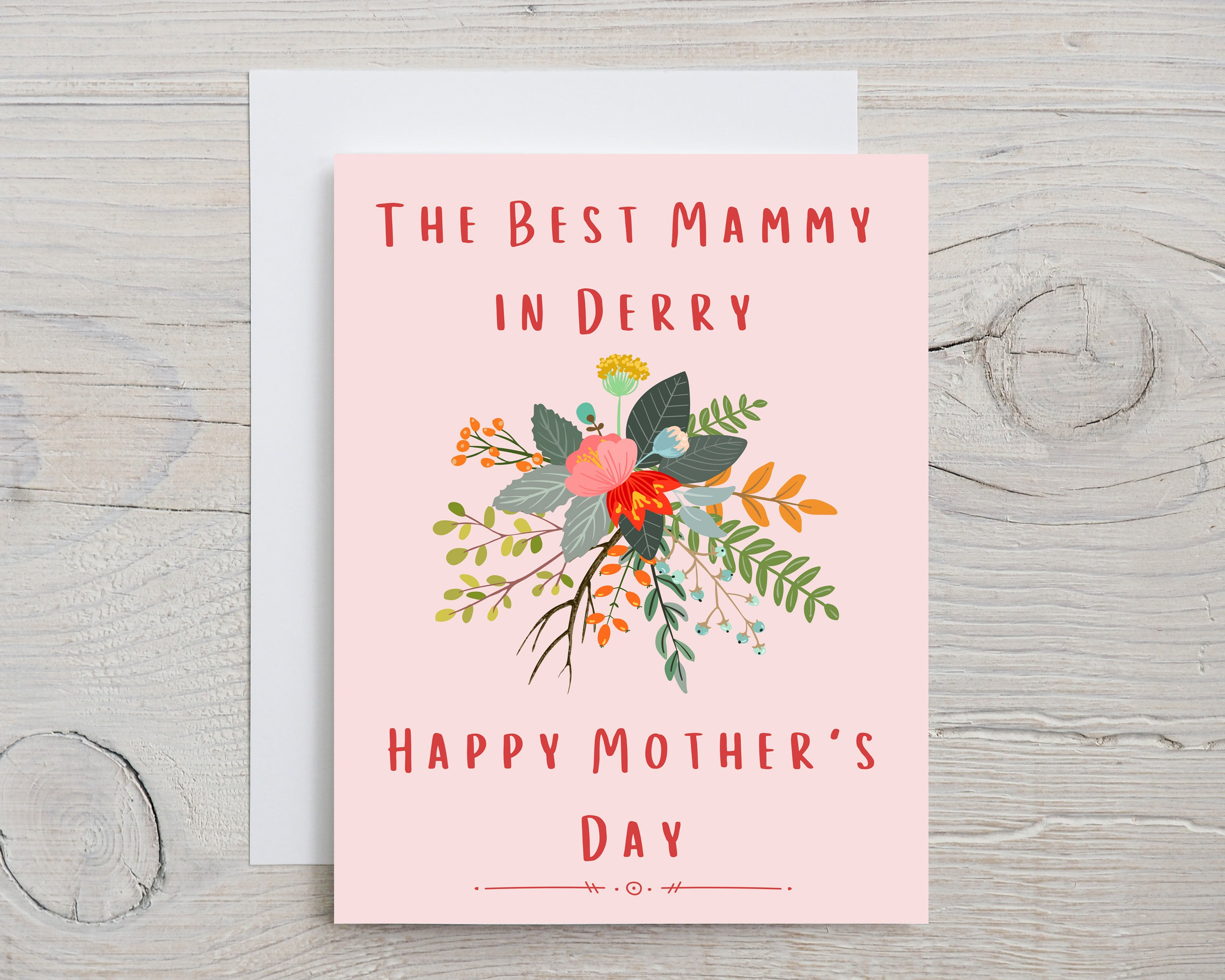 Derry Mother's Day Card