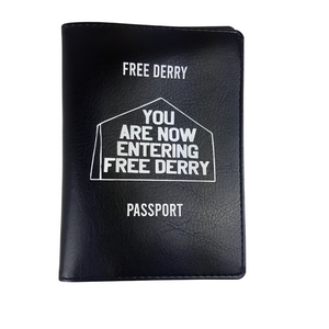 Free Derry Passport Cover