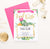 BACI005 final fiesta bachelorette party invites with cactus elegant succulents