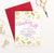 CPI010 gold foil christmas party invitation personalized presents candy canes stockings