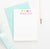 KS008 personalized hearts kid stationary note cards set heart cute simple 3