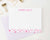 KS092 personalized stars stationery set for kids boys girls star cute fun bottom flat note card 2