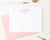 KS165 simple script and block font kids stationary personalized classic girls