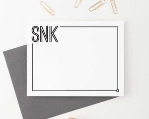 Professional Monogram Stationery Personalized for Men and Women