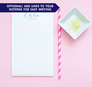 NP005 simple kids notepad set personalizedscript paper letter writing lined