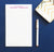 NP106 from the desk of personalized note pad for men professional letter writing 1
