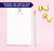 NP154 personalized cute unicorn notepads for kids unircorns girls paper lined