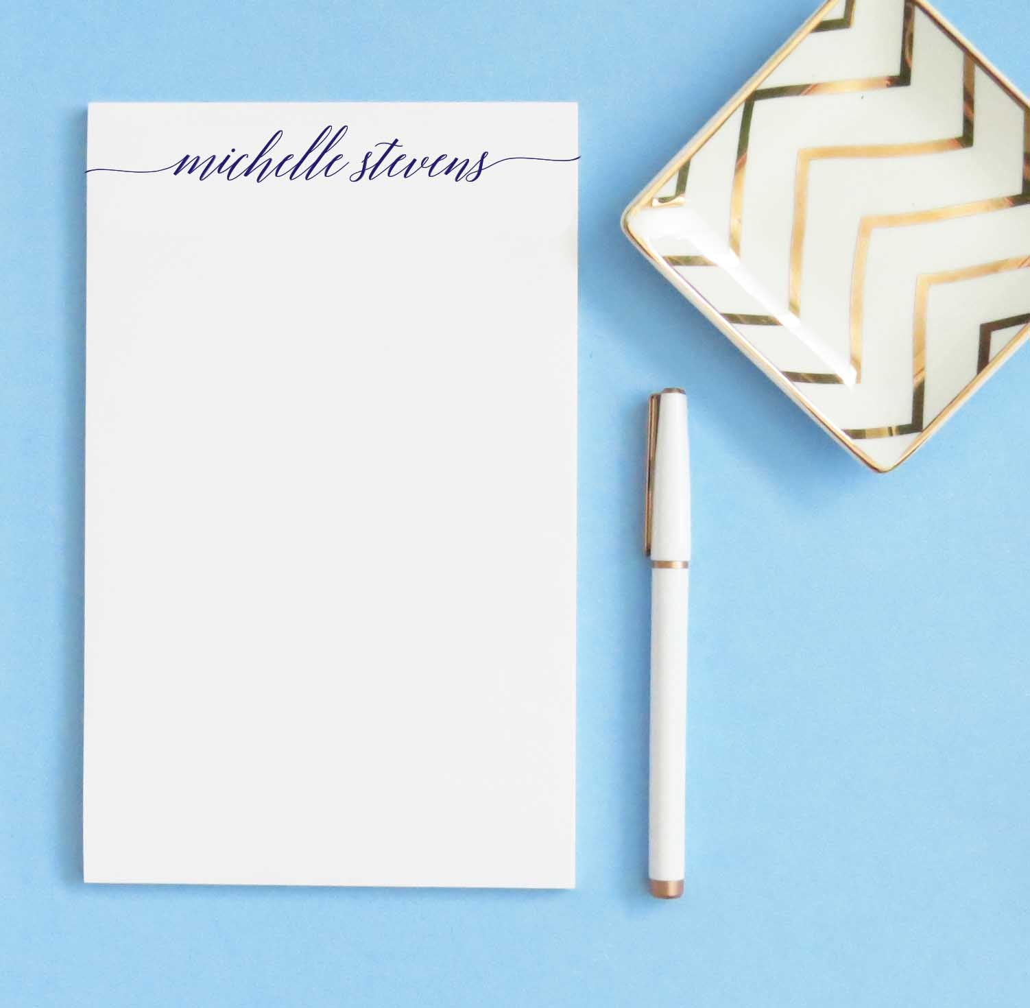 NP163 classic script personalized stationary paper set writing stationery paper