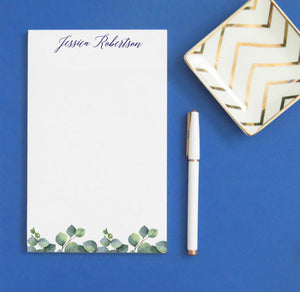 NP175 greenery leaves personalized stationery paper green writing paper