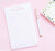NP204 cute a note from personalized lined notepads for girls simple kids