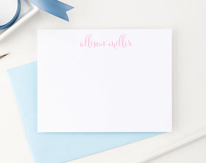 PS002 Simple Script Personalized Stationary for Women modern classic 1