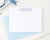 PS031 modern block font personal stationery sets simple personalized 1