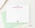 PS061 a note from personal stationery with heart name hearts elegant 2