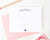 PS061 a note from personal stationery with heart name hearts elegant