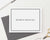 PS093 men_s stationery with block font and border professional business