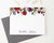 PS099 burgundy floral personalized stationery set florals fall elegant 2