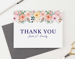 WS034 personalized folded floral wedding thank you gifts engagement couples florals