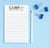 np247 boys personalized lined notepad for camp notes green blue orange