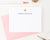 ps147 simple ivory flower stationary personalized for women floral classic block font 2nd photo