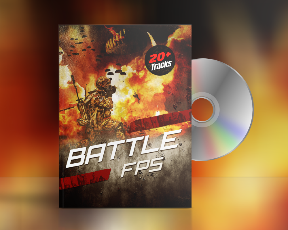epic fps battle game music cross fade demo