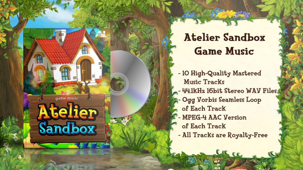 Atelier sandbox game music features