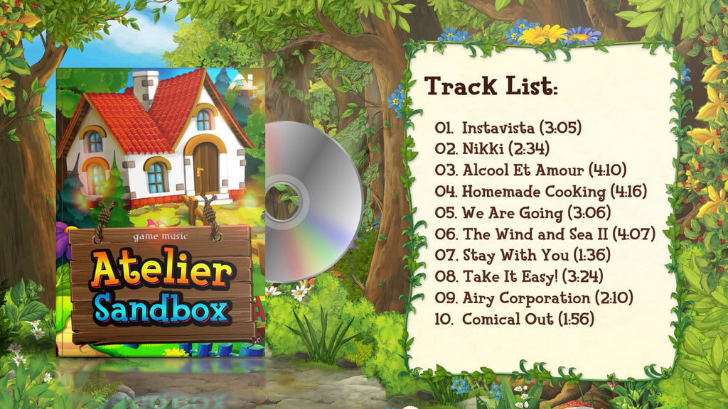 Atelier sandbox game music tracklist