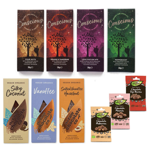 Vegan chocolate collection -  Summer Gift for vegans