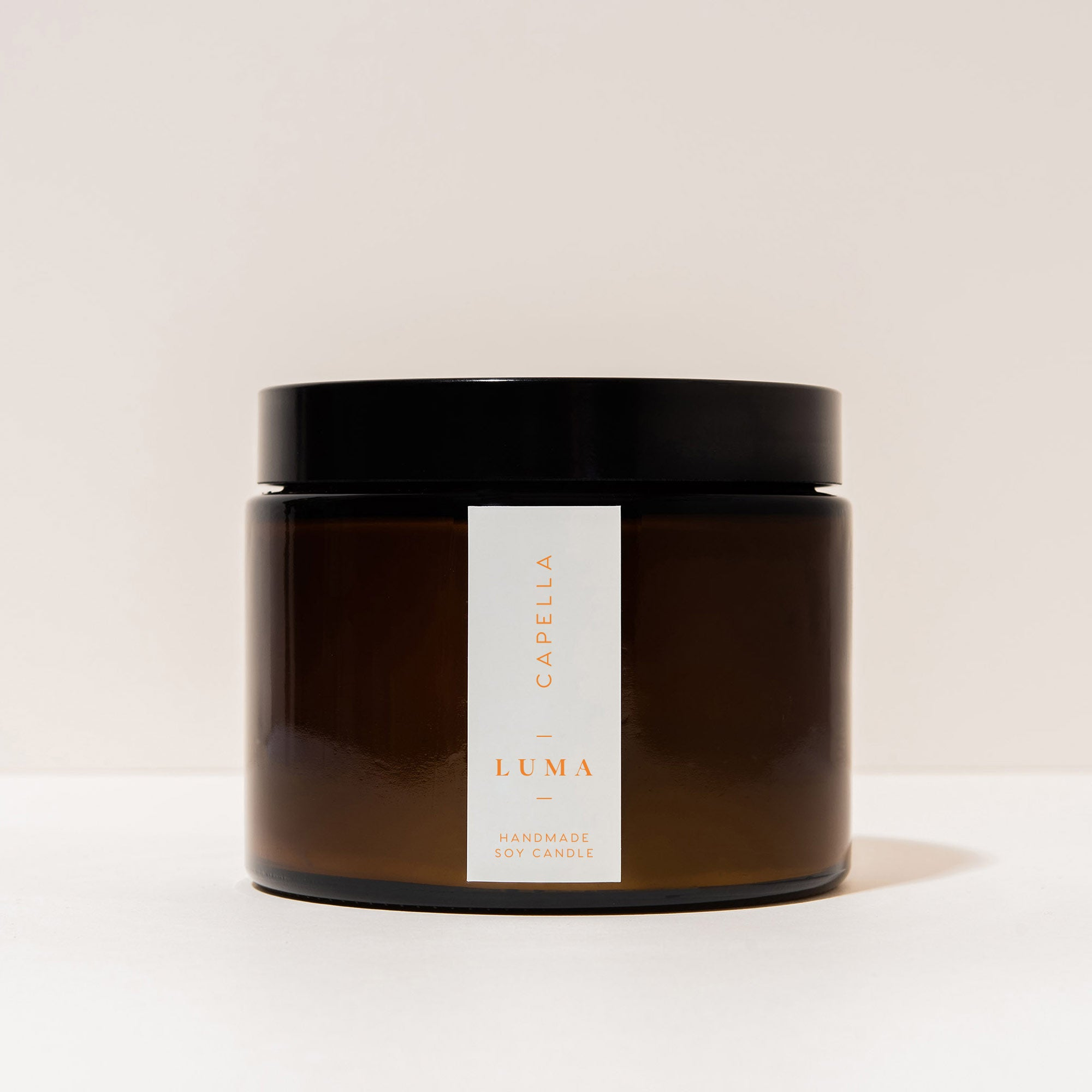 Capella | Handmade Soy Wax Candle - Luma Candles