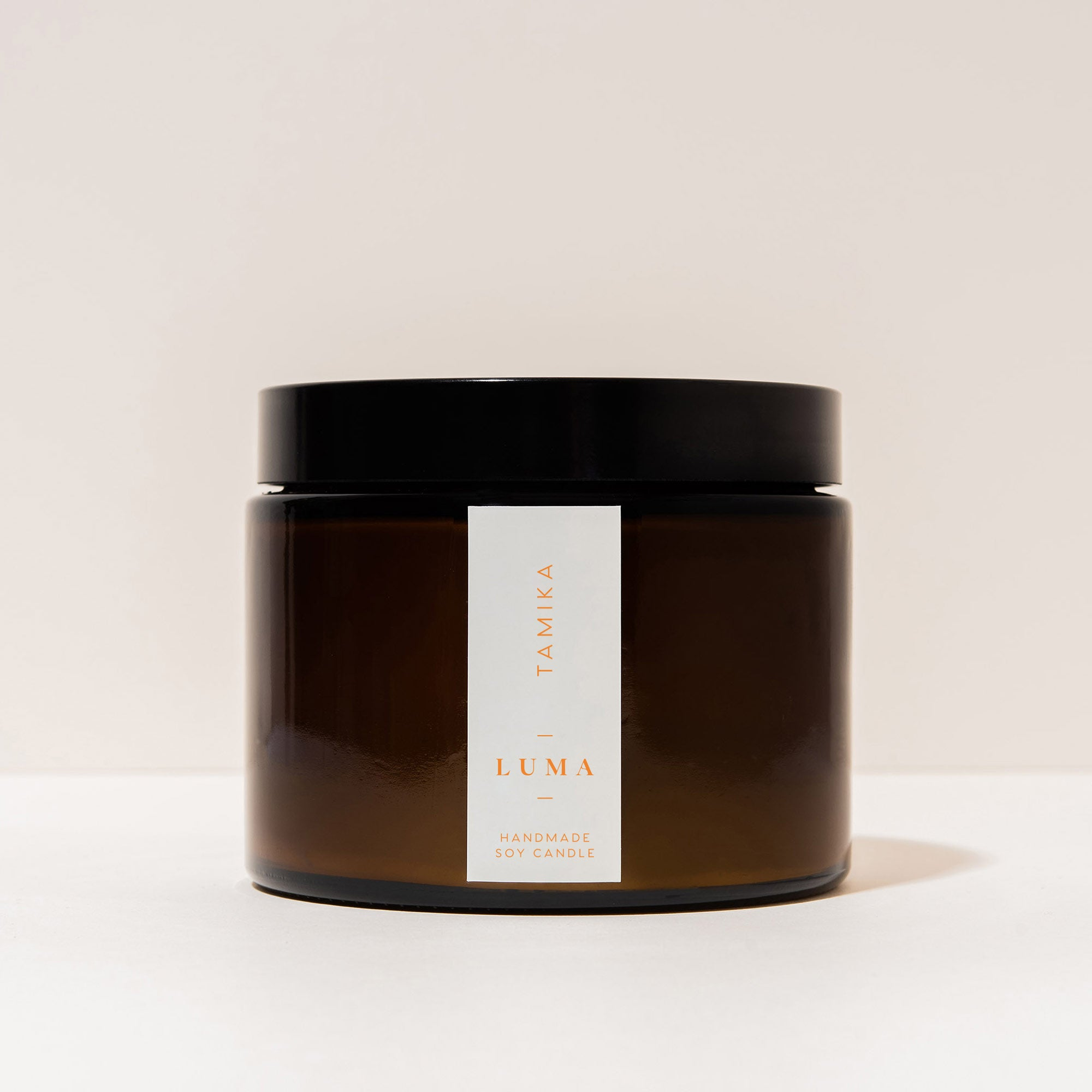 Tamika | Handmade Soy Wax Candle - Luma Candles