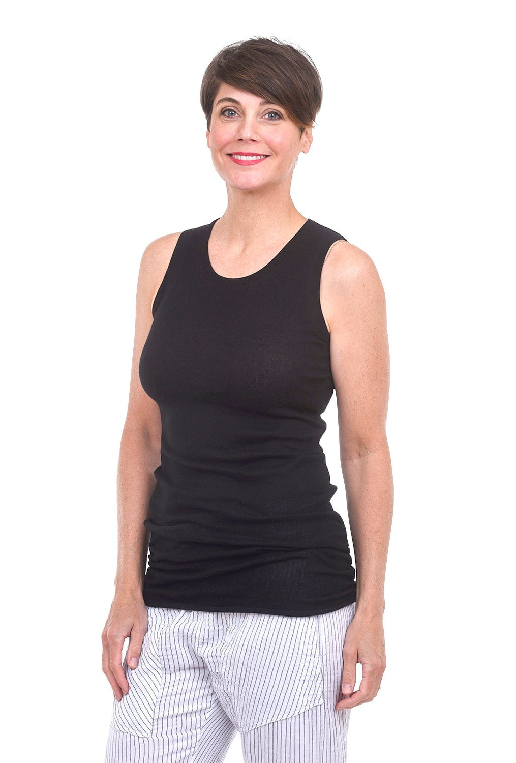 Luxury Tank Top, Black