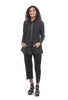 Etched Ponte Stella Jacket, Black
