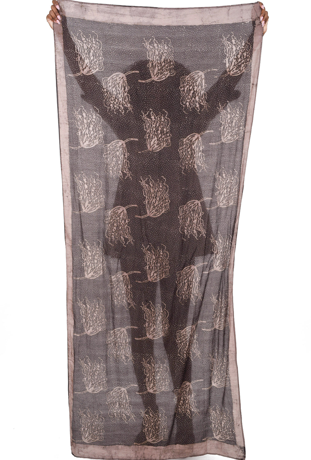 Willow Scarf, Brown