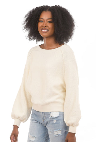 Found My Friend Pullover, Cream