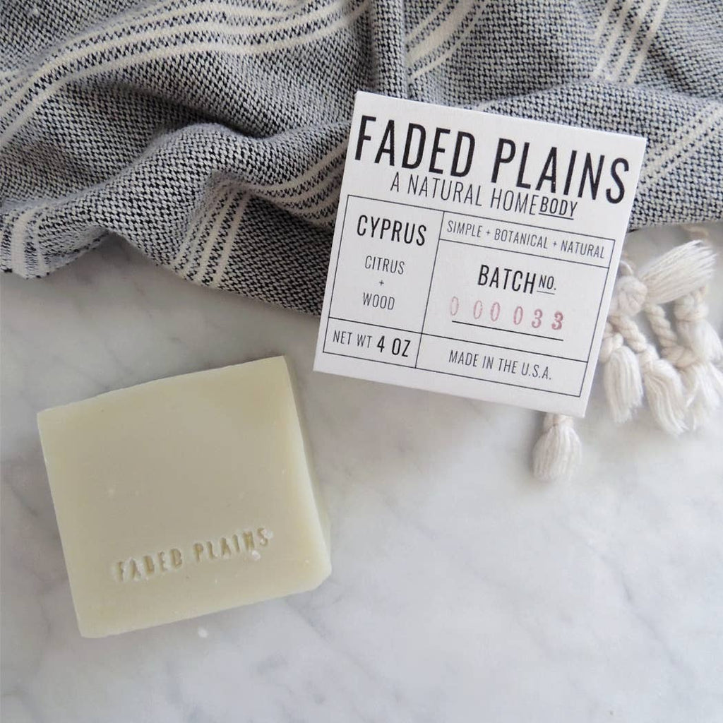 Small Batch Bar Soap, Multiple Scents
