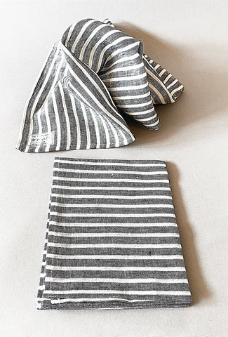 Linen Kitchen Towel, Jack Stripe