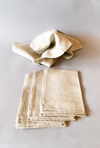 Linen Kitchen Towel, Natural