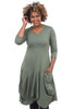 JJ Sonoma Dress, Grove Green