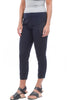 Jetter Cropped Leggings, Navy Hawser