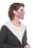 Coin Solid Mask, Mauve