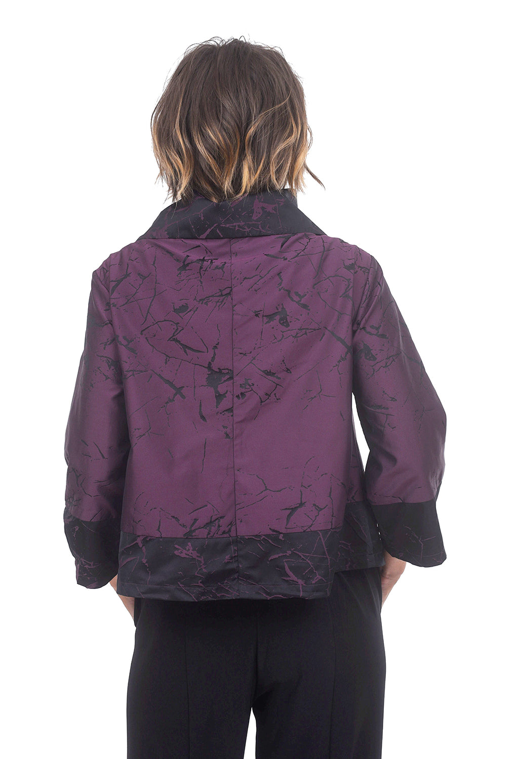 Memory Crackle Liv Jacket, Mulberry