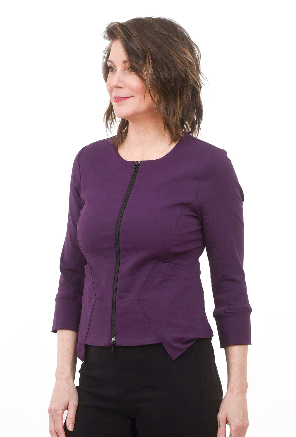Shortcut Jacket, Amethyst