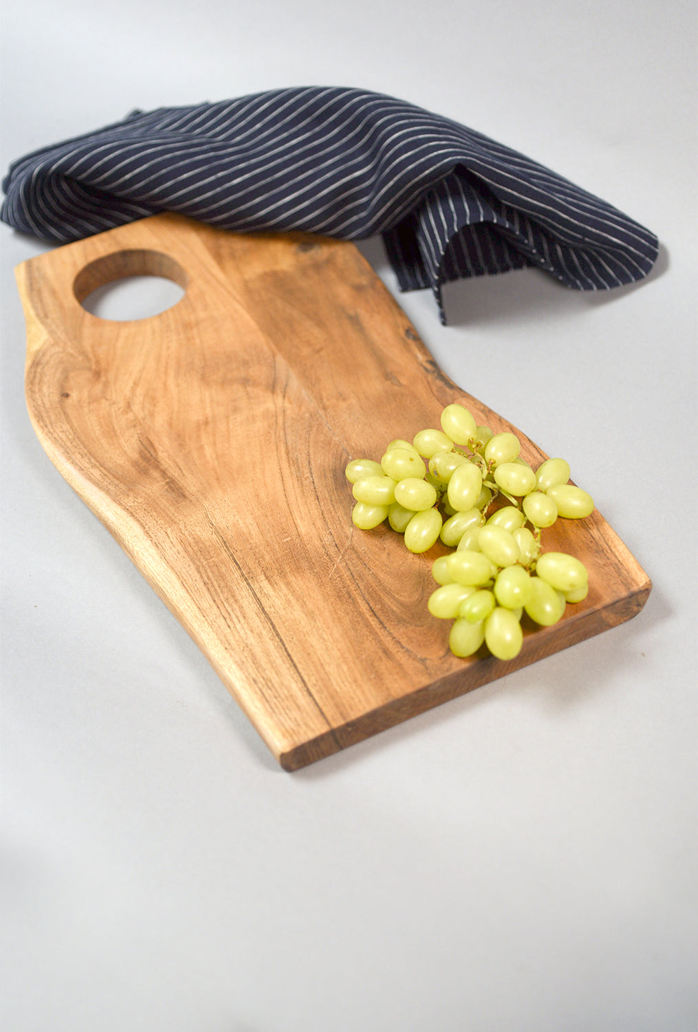 Acacia Wood Live-Edge Cutting Board