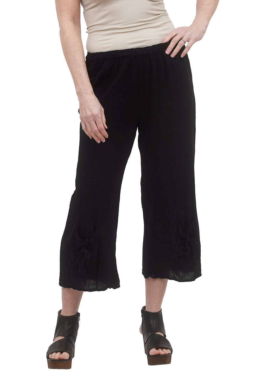 Sammy Capri Pant, Black